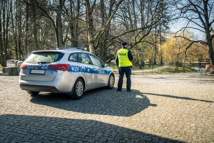 Policja Ciechanów: Wypadek drogowy na terenie gminy Regimin
